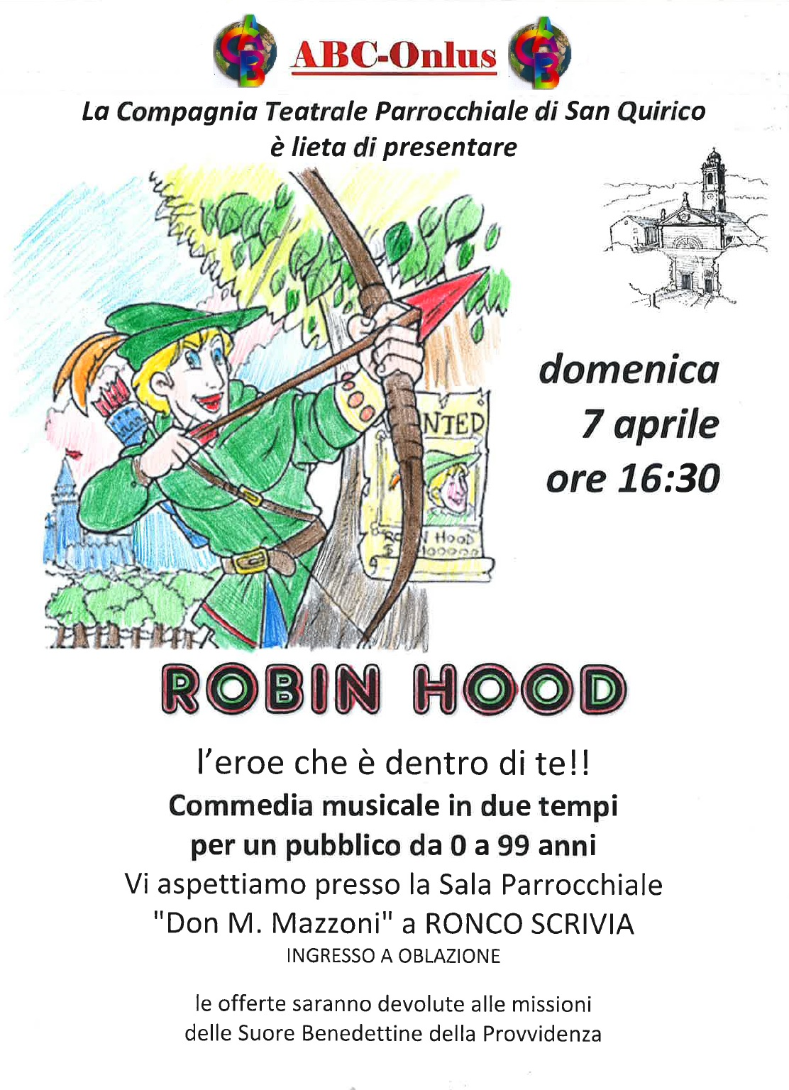 Volantino Robin Hood